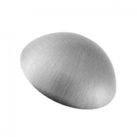 10mm - Dome Coverheads Satin Chrome