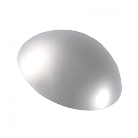 10mm - Dome Coverheads Chrome Plated