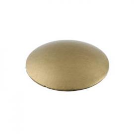 10mm - Mushroom Coverheads Satin Brass