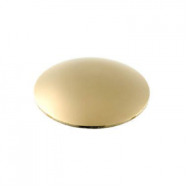 10mm - Mushroom Coverheads Polished Brass