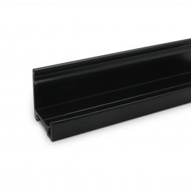 SG Office Base Track - 25mm High - Black
