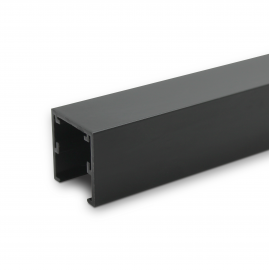 SG Office Standard Head Track - 25mm x 25mm - Black