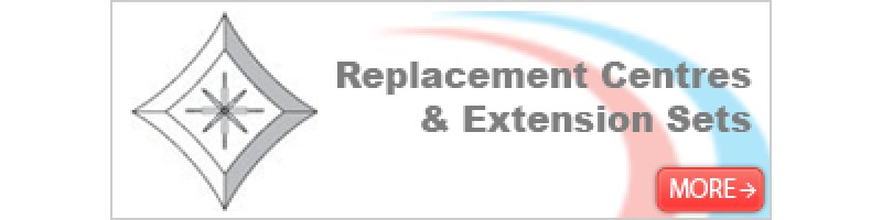 Replacement Centres & Extension Sets