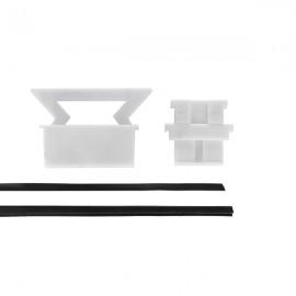 Eazi-Rail 12mm Thick Glass Adjustable Clamping Kit