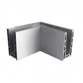 Eazi-Rail Surface 90 Degree External Corner - SS Effect