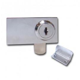 Extended Type Double Swing Door Lock Chrome