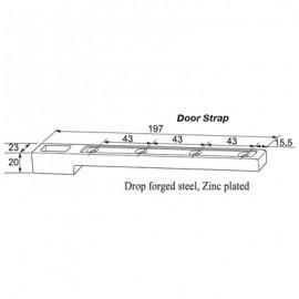 197mm Door Strap