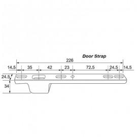 226mm Door Strap