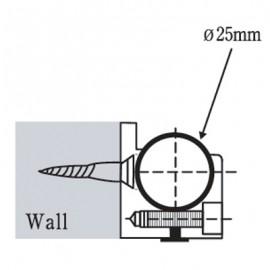 Sliding Door Rail Holder To Wall