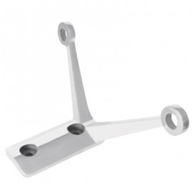 304 SS Two Way Spider Bracket With Glass Bolts
